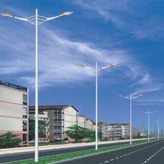 Cột đèn chiếu sáng bát giác rời cần BG-D78